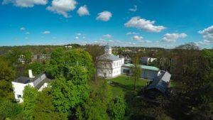 Drone foto van Museum Arnhem
